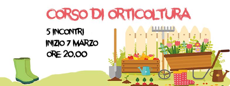 Corso Orticoltura 2018